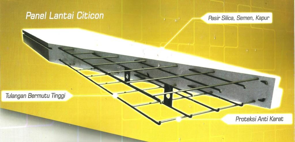 Foto Detail Panel lantai