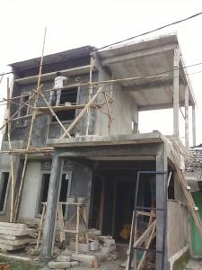 Panel lantai AAC berfungsi sebagai atap