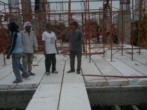 panel lantai