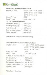 Spesifikasi Material Panel Lantai AAC