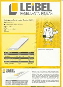 Contoh Spesifikasi Material Panel Lantai LEIBEL