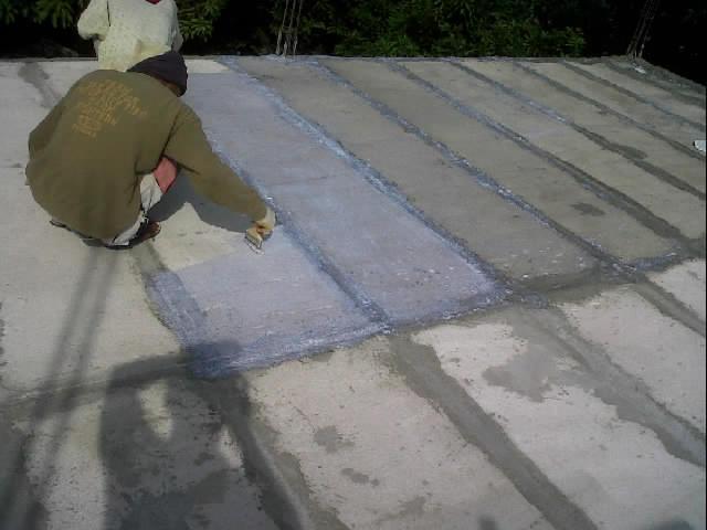 Cara Pemasangan waterproof pada Cor dag beton instan (Panel lantai)